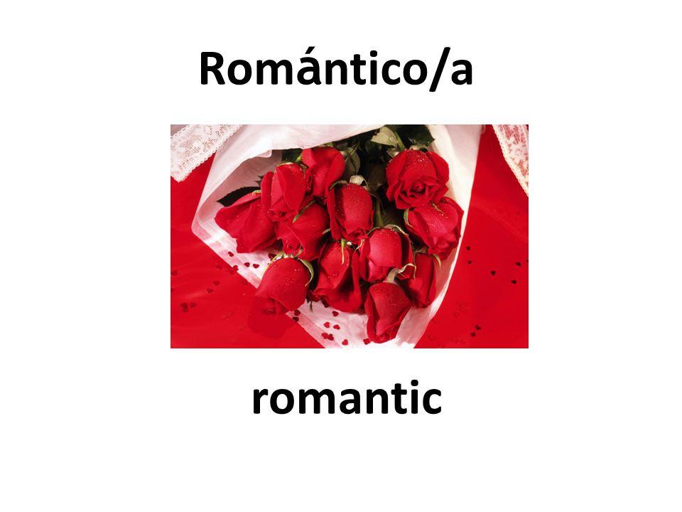 romantic Rom á ntico/a