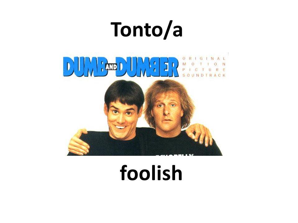 foolish Tonto/a