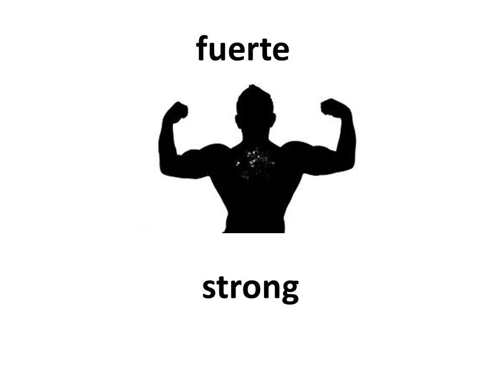 strong fuerte
