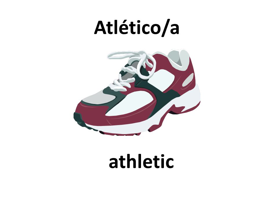 athletic Atlético/a