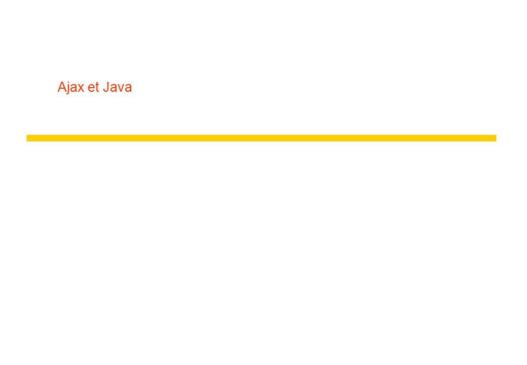 Ajax et Java
