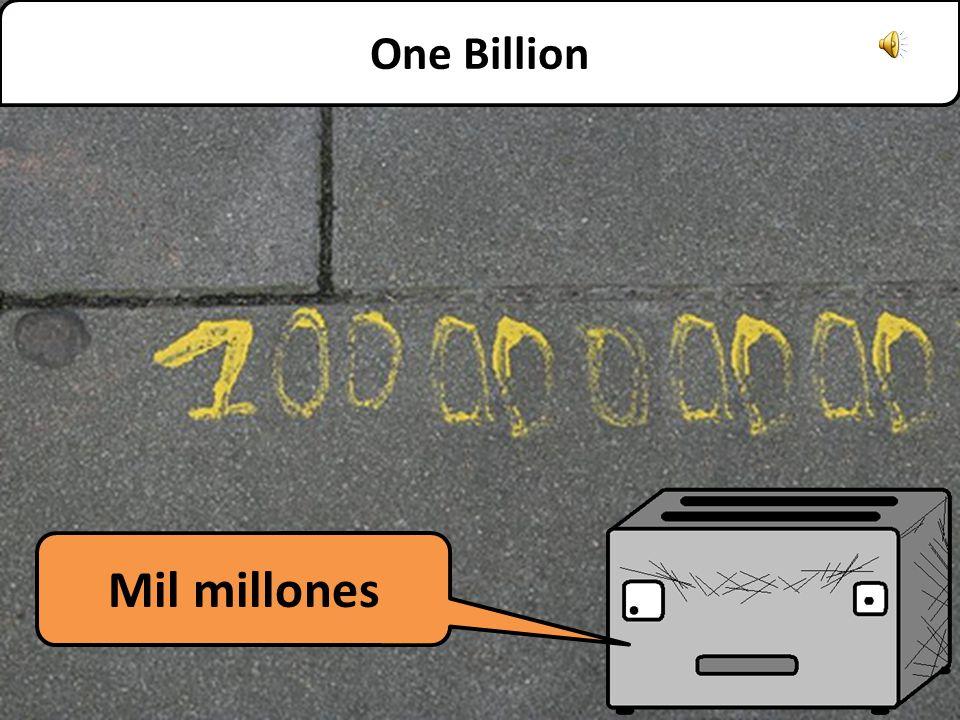 One Million Un millón