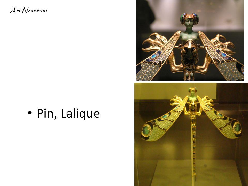 Pin, Lalique Art Nouveau