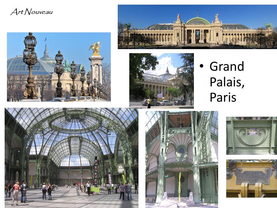 Grand Palais, Paris Art Nouveau