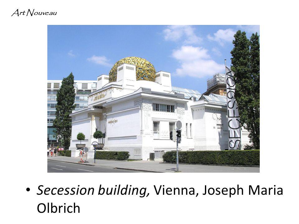 Secession building, Vienna, Joseph Maria Olbrich Art Nouveau