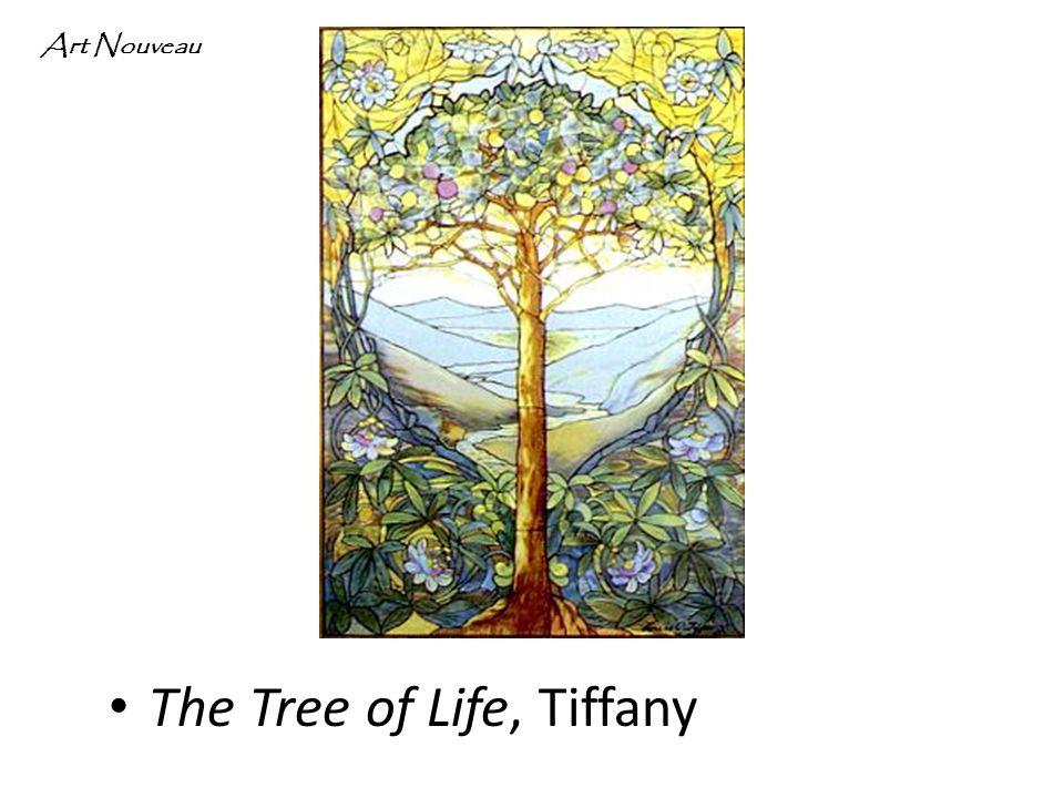 The Tree of Life, Tiffany Art Nouveau