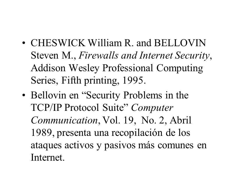 CHESWICK William R.
