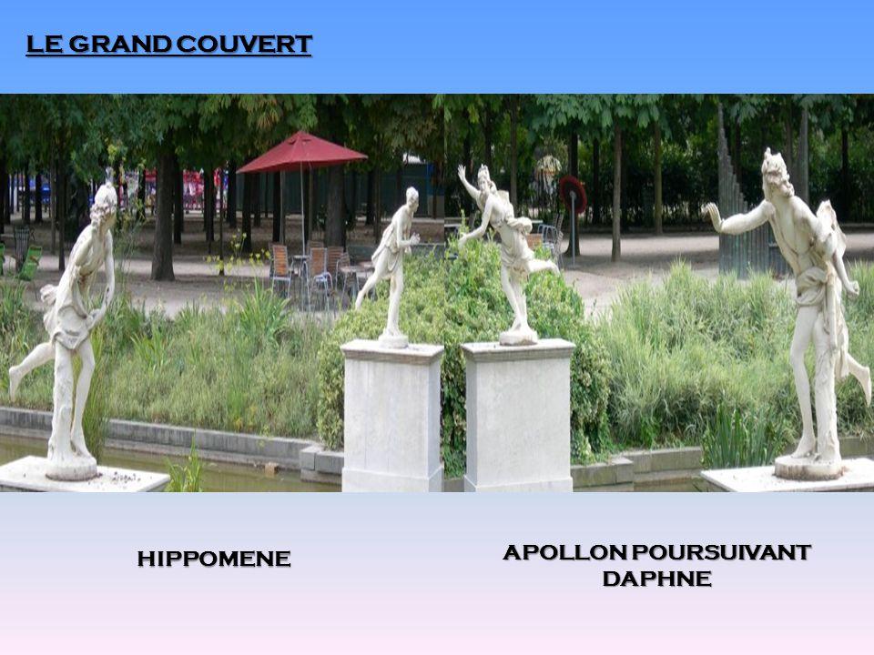 LE GRAND COUVERT HIPPOMENE APOLLON POURSUIVANT DAPHNE