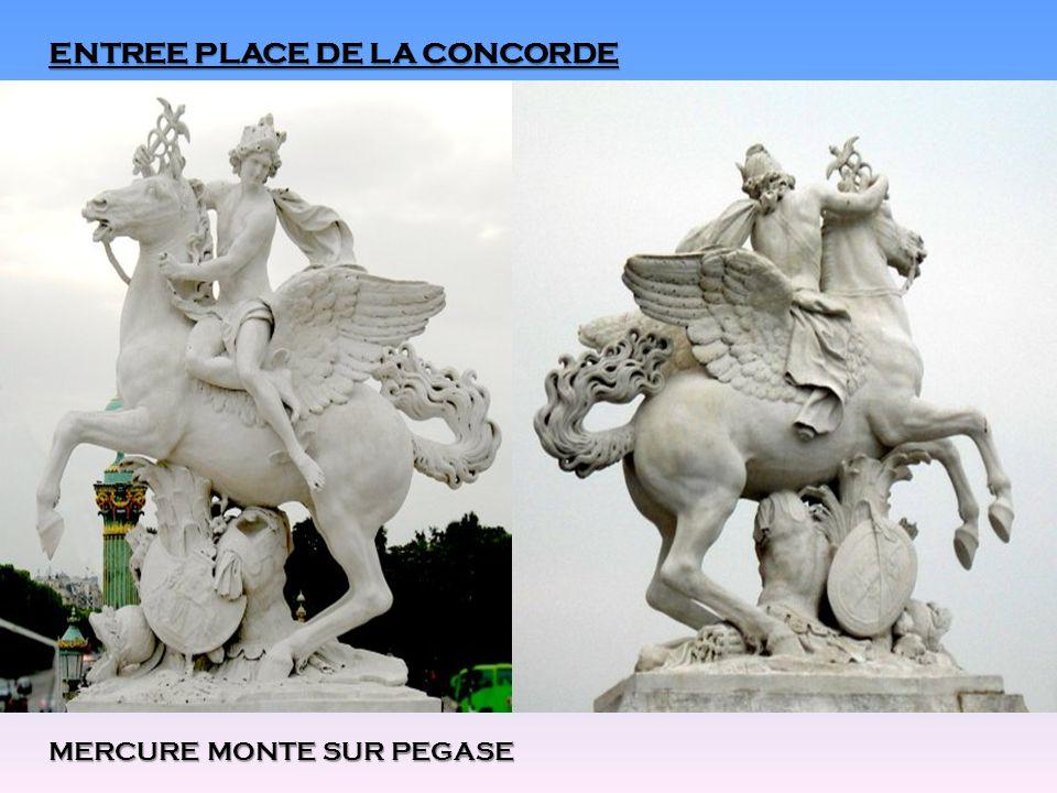 ENTREE PLACE DE LA CONCORDE MERCURE MONTE SUR PEGASE