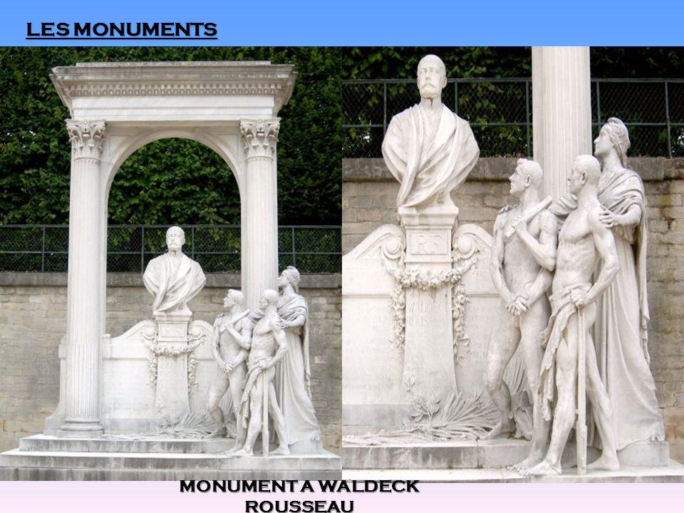 LES MONUMENTS MONUMENT A WALDECK ROUSSEAU