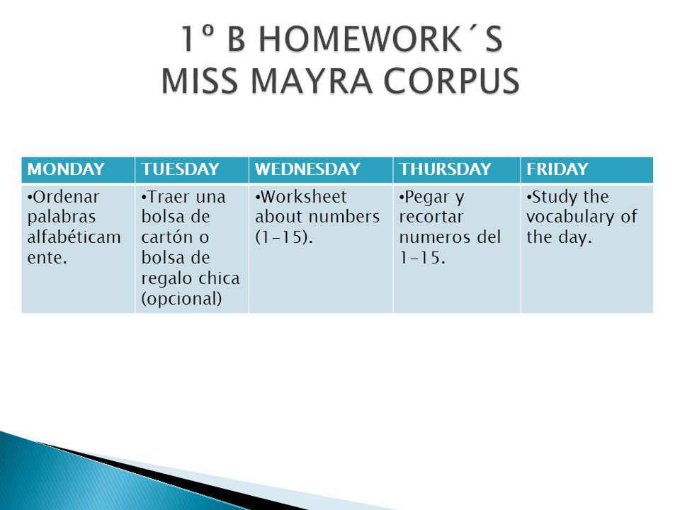 MONDAYTUESDAYWEDNESDAYTHURSDAYFRIDAY Classroom objescts Worksheet.