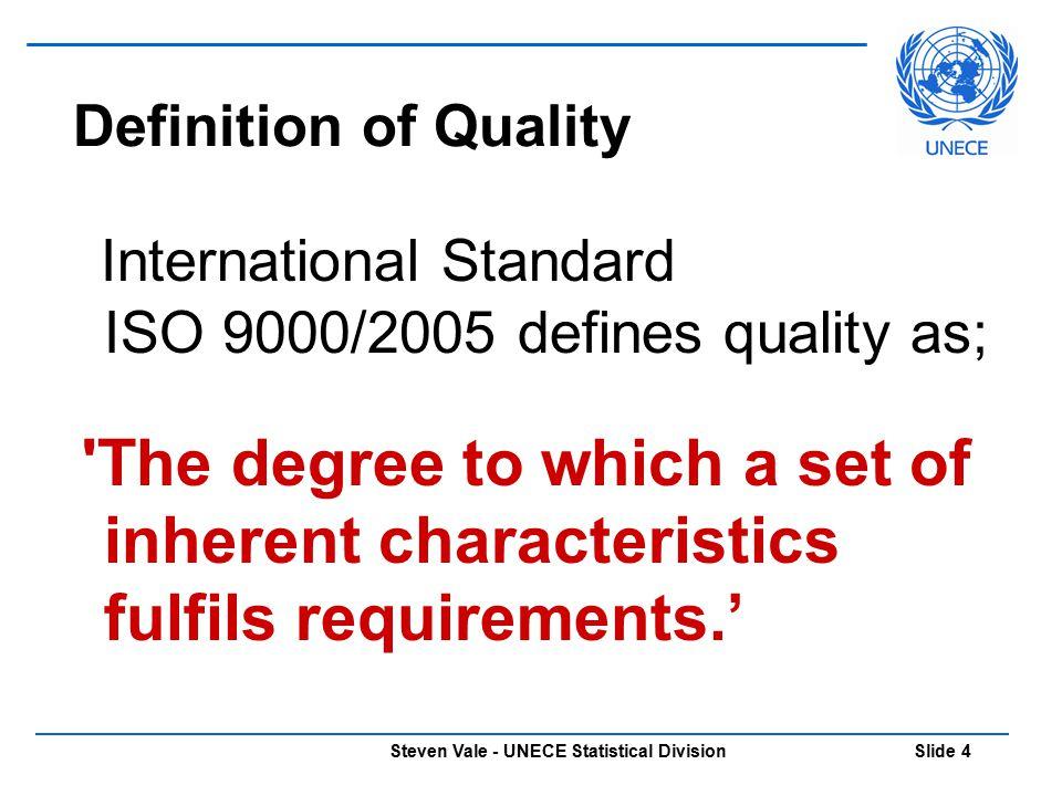 Steven Vale - UNECE Statistical Division Slide 45 Questions?