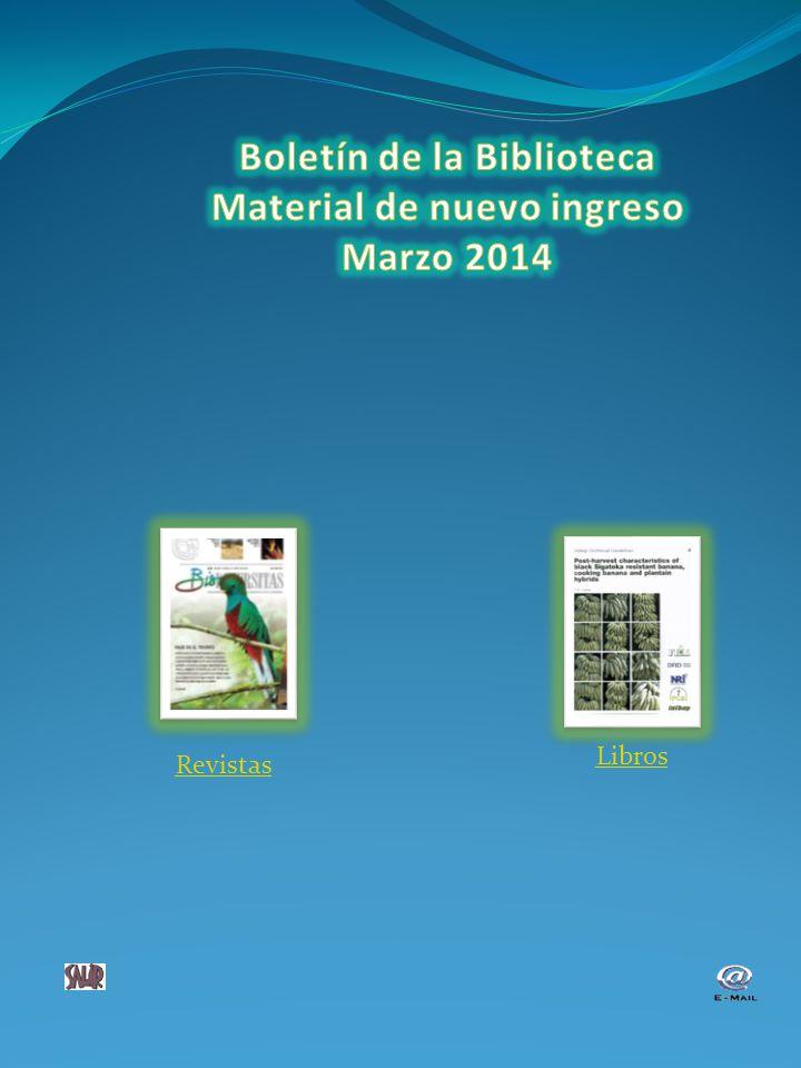 Revistas Agricell report vol 61 (1), 2013 Agrociencia.