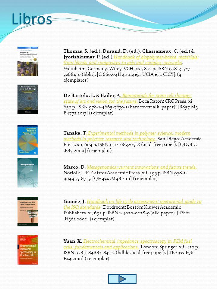Libros Thomas, S. (ed.), Durand, D. (ed.), Chassenieux, C.