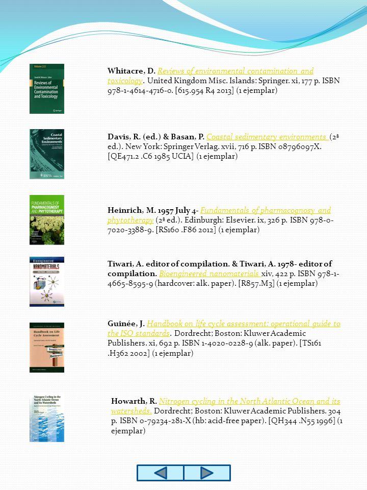 Lehninger, A., Nelson, D.& Cox, M. Lehninger principles of biochemistry (5ª ed.).