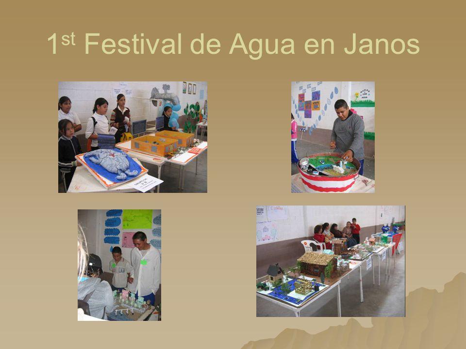 1 st Festival de Agua en Janos