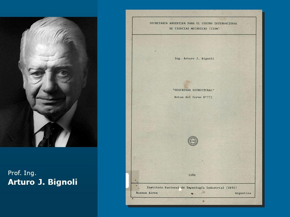 Prof. Ing. Arturo J. Bignoli Centro Gubernamental La Plata