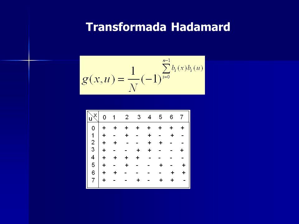 Transformada Hadamard