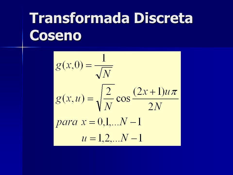 Transformada Discreta Coseno