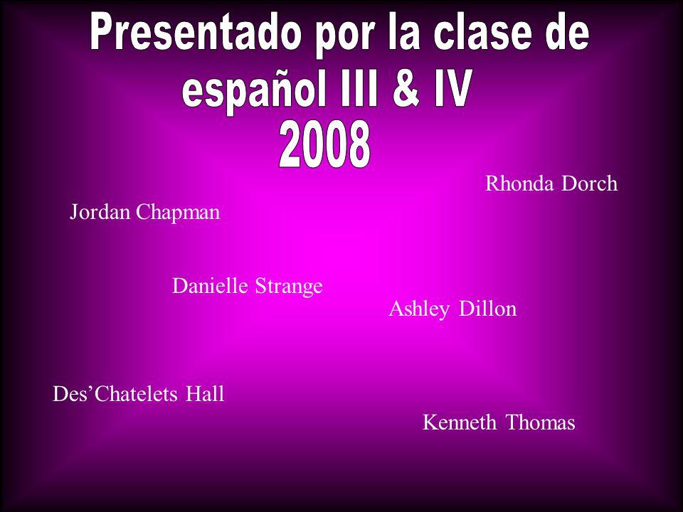 Jordan Chapman Ashley Dillon Danielle Strange Rhonda Dorch Des'Chatelets Hall Kenneth Thomas