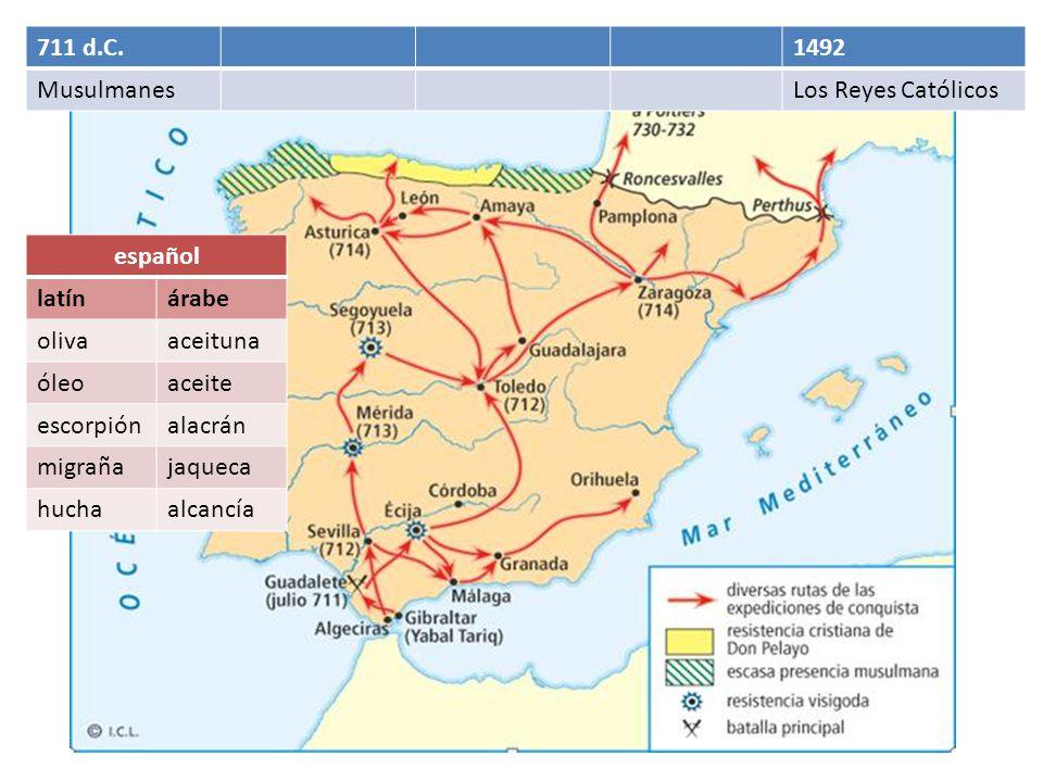 1492 Los Reyes Católicos Words made popular during the Inquisition: encomienda, hereje, marrano