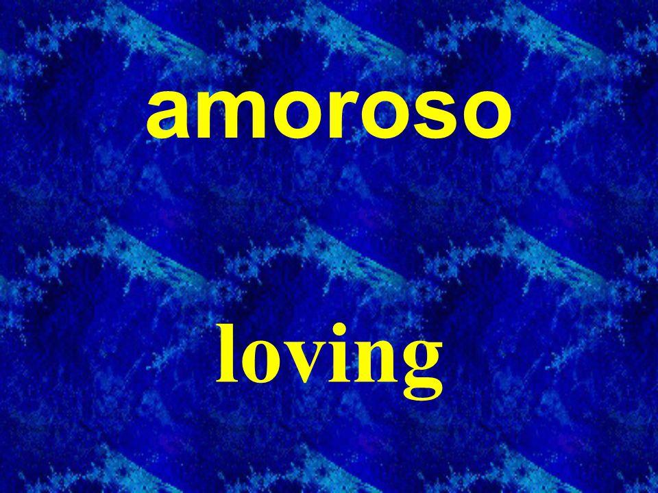 amoroso loving