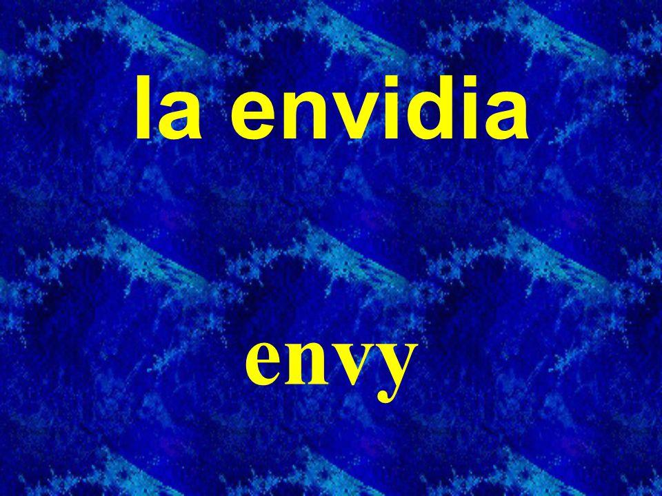 la envidia envy