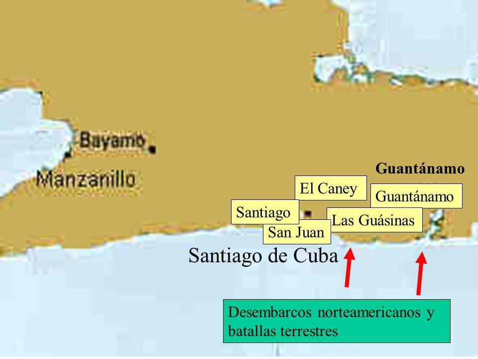 SANTIAGO LA HABANA CUBA 1898