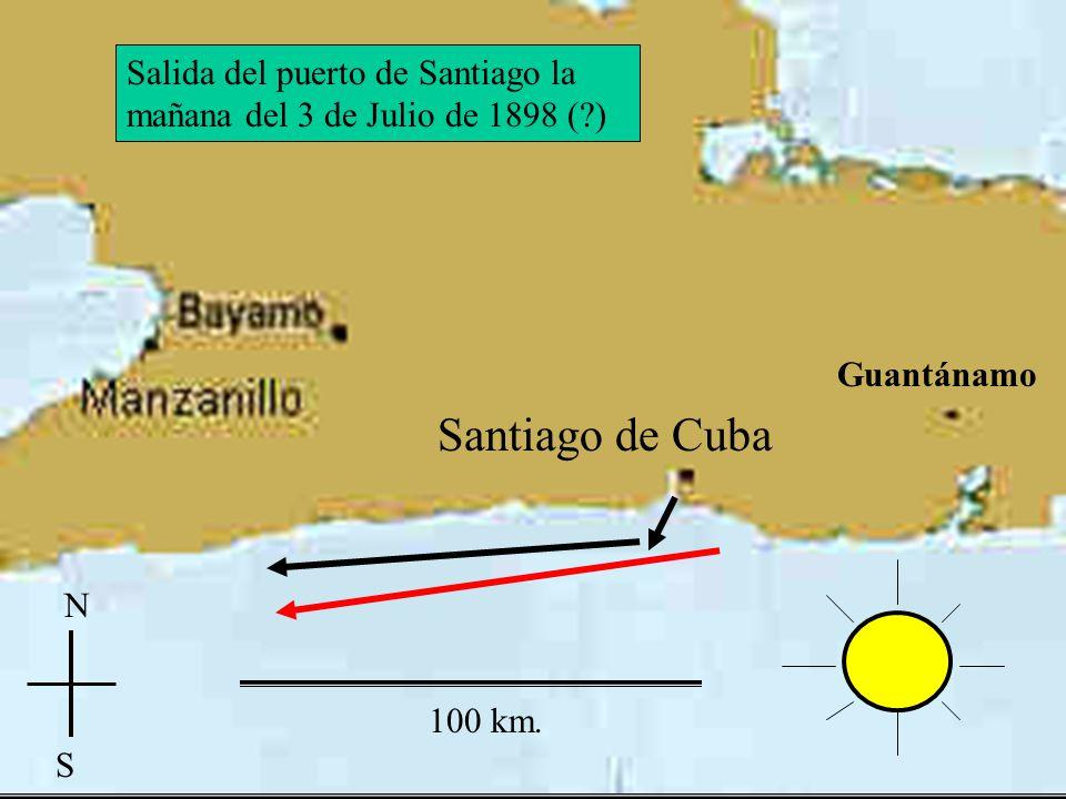 Guantánamo Las Guásinas San Juan El Caney Santiago Santiago de Cuba Guantánamo Desembarcos norteamericanos y batallas terrestres
