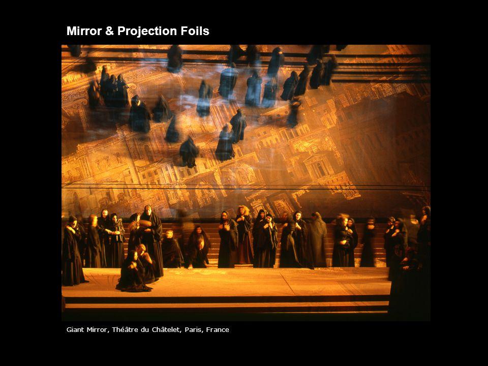 Giant Mirror, Théâtre du Châtelet, Paris, France