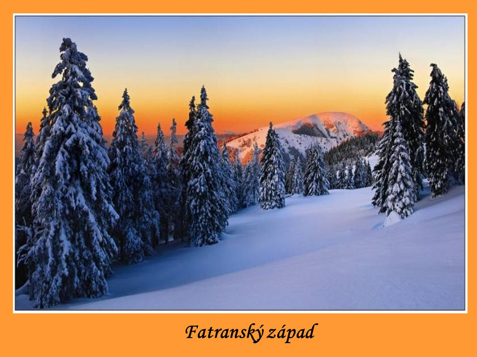 Fatranský západ