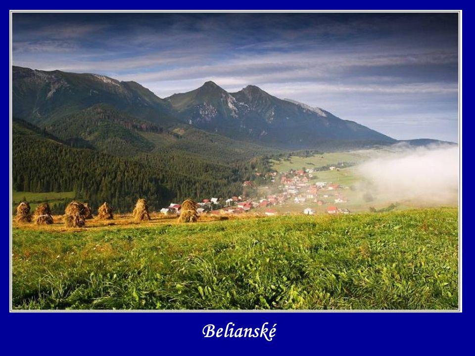 Svetelné divadlo pod aj nad Sivým vrchom - Západné Tatry