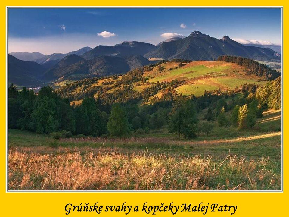 Grúňske svahy a kopčeky Malej Fatry