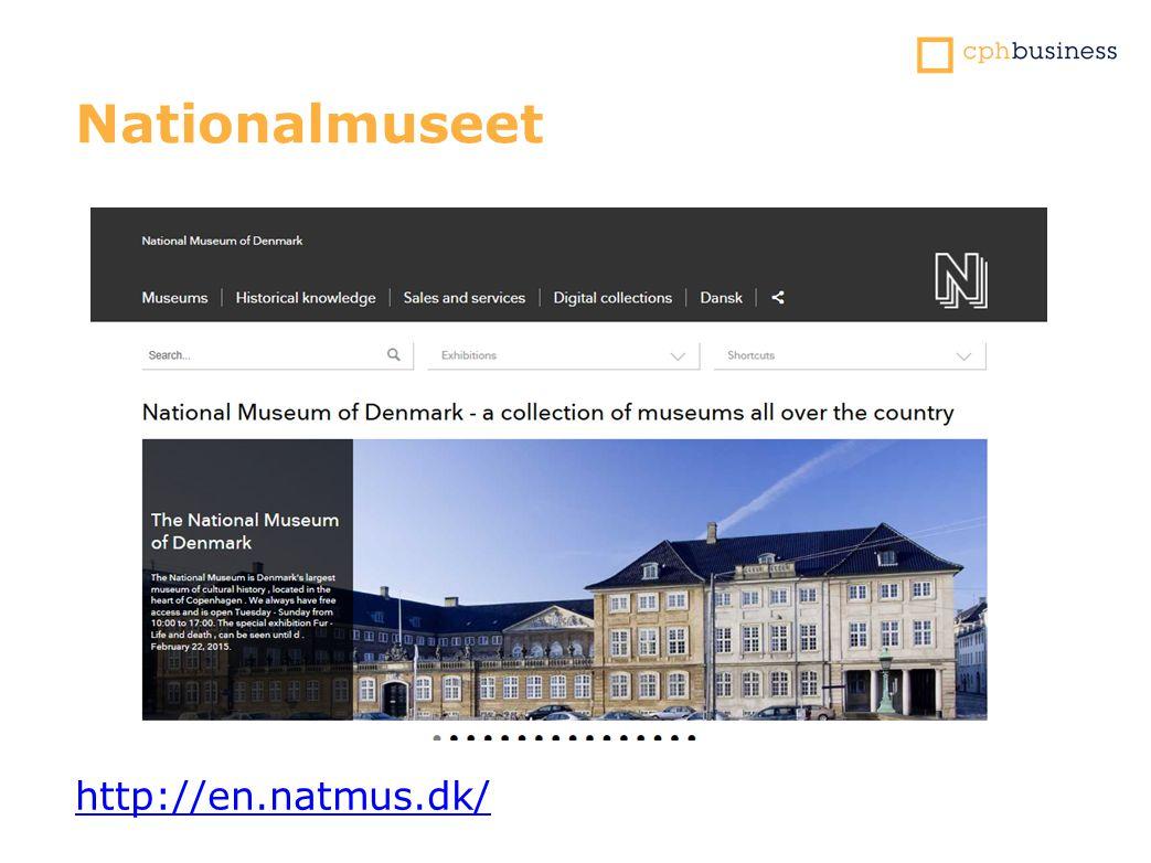 Nationalmuseet http://en.natmus.dk/