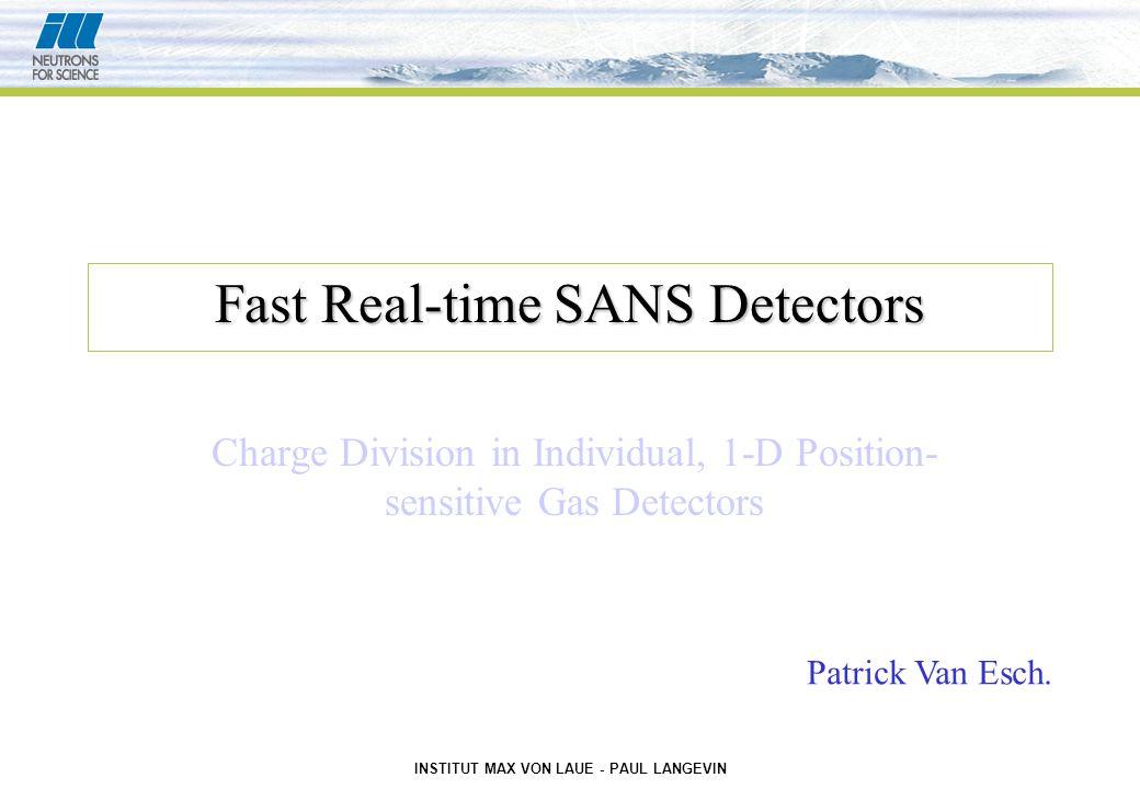 INSTITUT MAX VON LAUE - PAUL LANGEVIN Patrick Van Esch S.D.N. TINX Septembre 2001 Spectrum