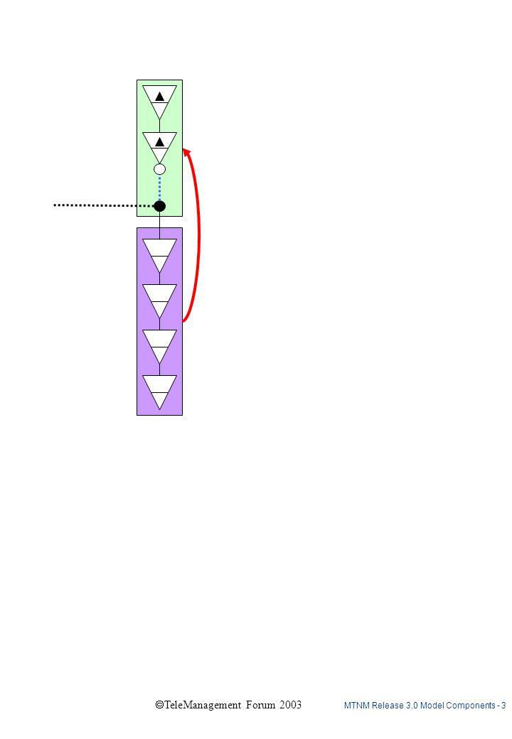 MTNM Release 3.0 Model Components - 4  TeleManagement Forum 2003 n CTPs n CTPs n CTPs n CTPs G H (multi-layer G ) J I