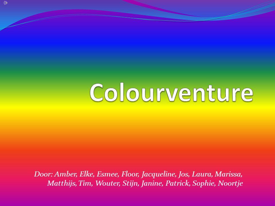 Door: Amber, Elke, Esmee, Floor, Jacqueline, Jos, Laura, Marissa, Matthijs, Tim, Wouter, Stijn, Janine, Patrick, Sophie, Noortje