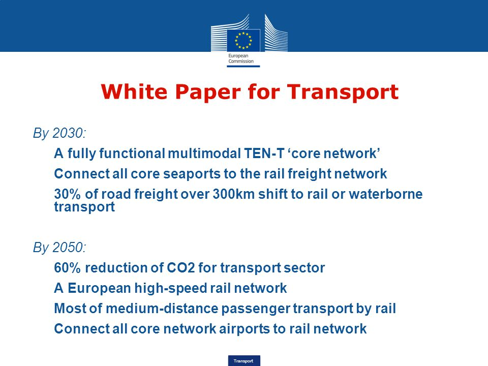Transport €300bn package CEF Innovative Financial Instruments (2) Full eligibility Whole TEN-T network, Core & Comprehensive All modes of transport Projects with identifiable revenue streams or commercial benefits and long-term repayment Motorways with tolls High-Speed Rail Airports, logistic platforms & Ports development Alternative fuelling infrastructure and on-board equipment Traffic Management Systems equipment Partnership with financial institutions, such as EIB