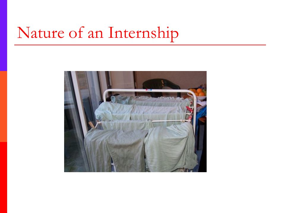 Nature of an Internship