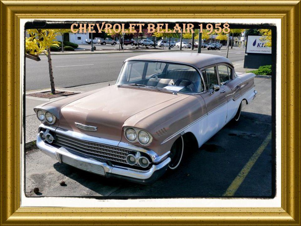 Chevrolet belair 1958