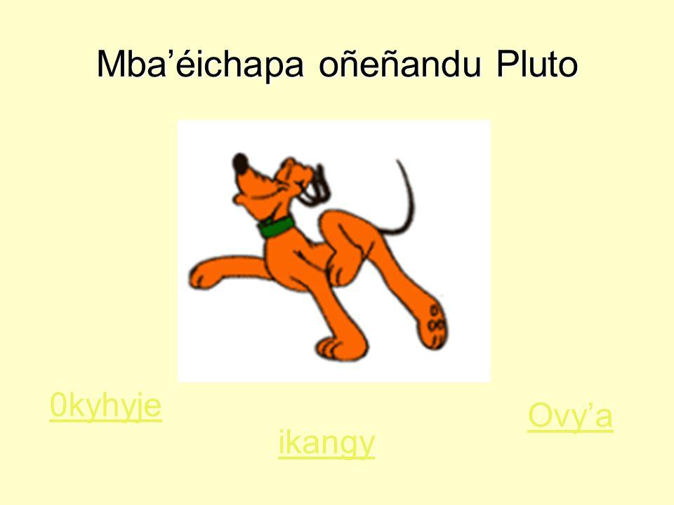 Mba'éichapa oñeñandu Pluto Ovy'a 0kyhyje ikangy