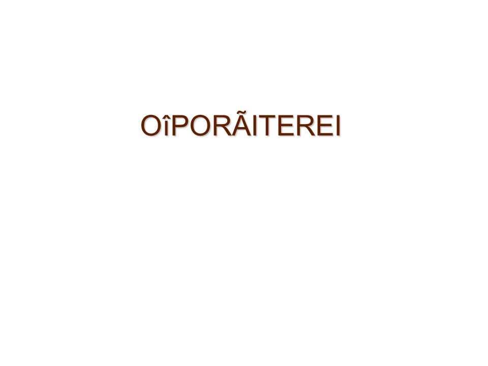 OîPORÃITEREI