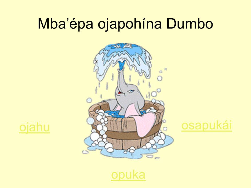 Mba'épa ojapohína Dumbo ojahu opuka osapukái