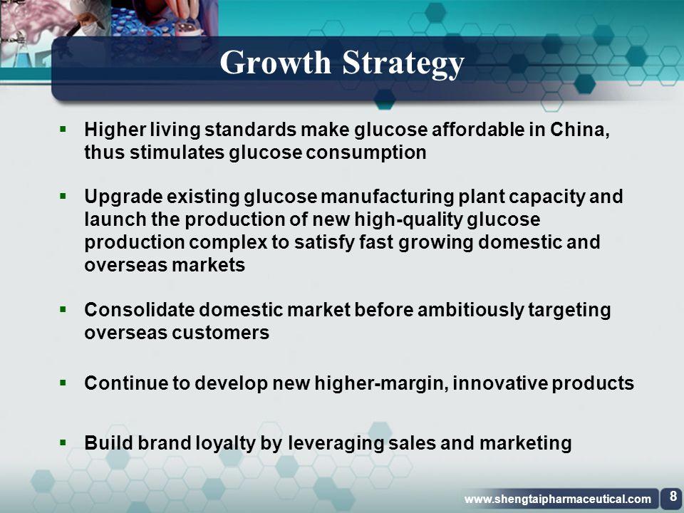 www.shengtaipharmaceutical.com Revenue Mix 7