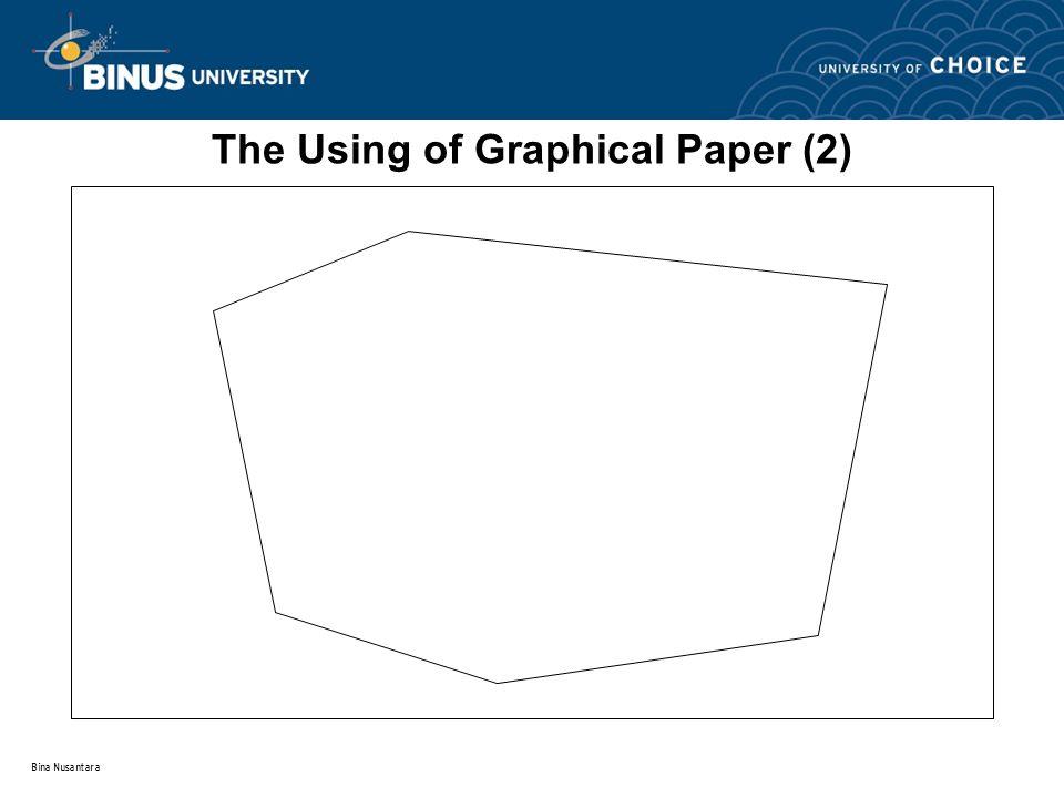 Bina Nusantara The Using of Graphical Paper (2)