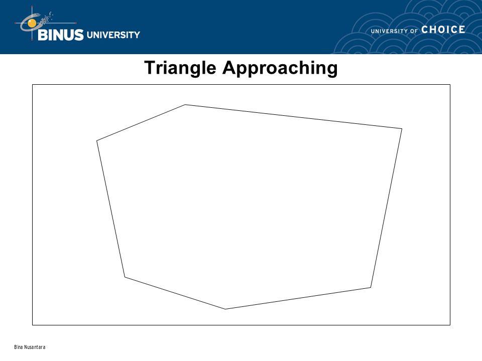Bina Nusantara Triangle Approaching