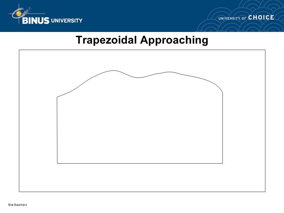 Bina Nusantara Trapezoidal Approaching