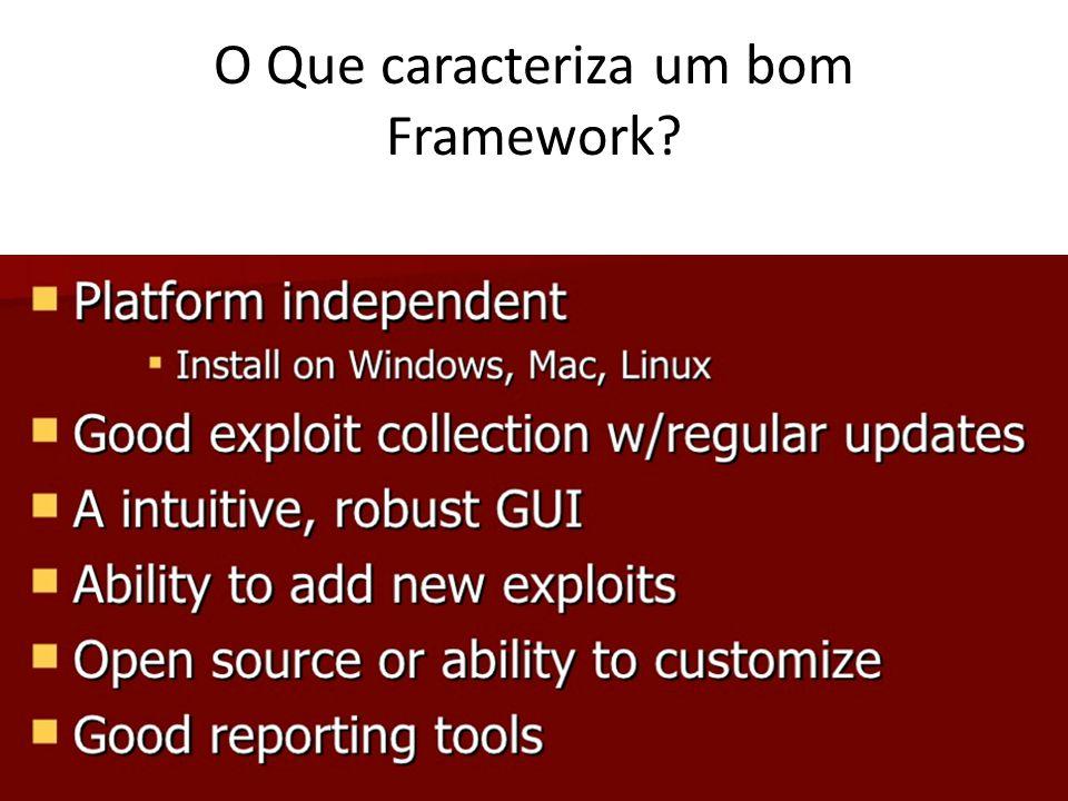 O Que caracteriza um bom Framework