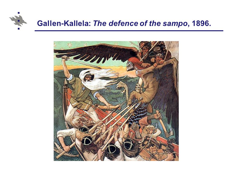Gallen-Kallela: The defence of the sampo, 1896.