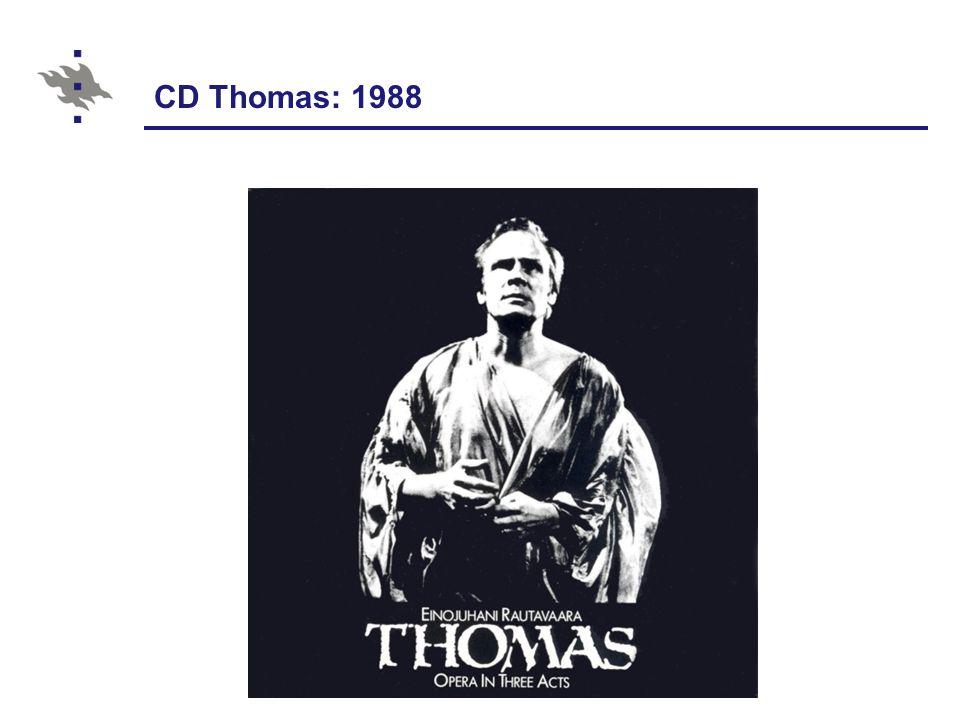 CD Thomas: 1988